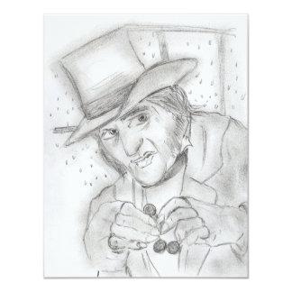 Ebenezer Scrooge Party Invite