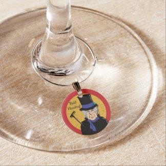 Ebenezer Scrooge Wine Charm