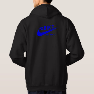 """eBike - Just ride it"" custom hoodies for men"