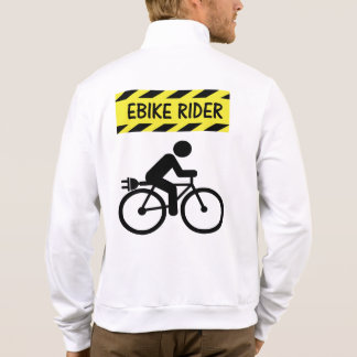 """Ebike rider"" cycling jackets for him"