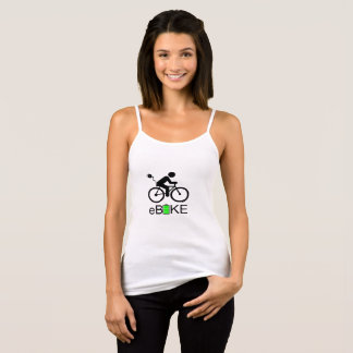 """Ebike"" strap top for women"