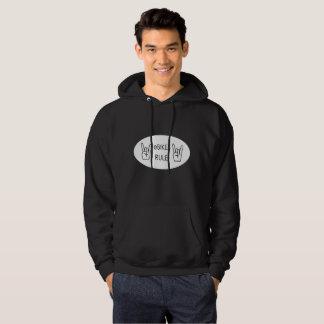 """""""Ebikes rule"""" hoodies for men"""