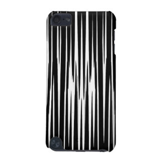 EBONY AND IVORY zebra stripes abstract art design iPod Touch (5th Generation) Case