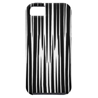 EBONY AND IVORY zebra stripes abstract art design iPhone 5 Cover