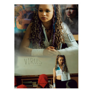 Ebony before the virus postcard