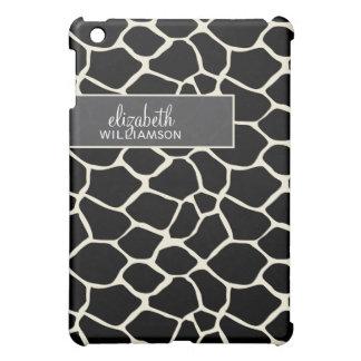 Ebony Black Giraffe Pern Cover For The iPad Mini