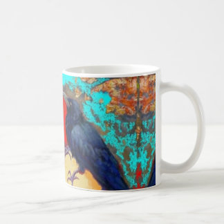 Ebony Crow and Egg by Sharles Coffee Mug