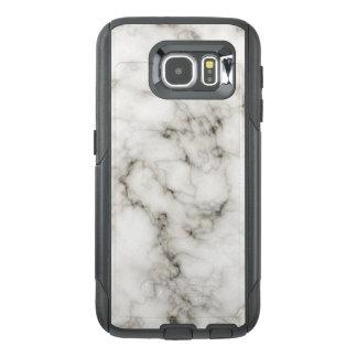 Ebony Ivory Marble Black White Marble Stone OtterBox Samsung Galaxy S6 Case