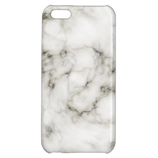 Ebony Ivory marble Cover For iPhone 5C