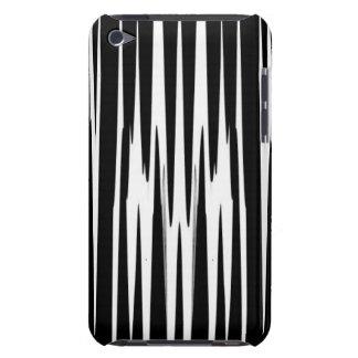 EBONY & IVORY (zebra stripe abstract art) ~ Case-Mate iPod Touch Case