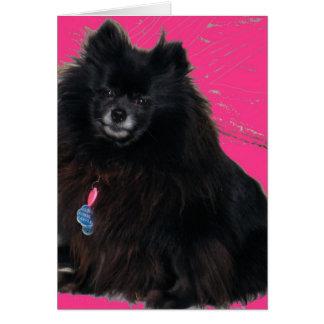 Ebony- Pretty in Pink Card