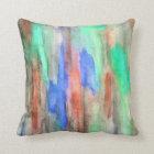 Ebony Rainbow Green Pillow