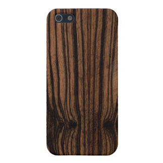 Ebony Wood Grain iPhone Case iPhone 5/5S Cover