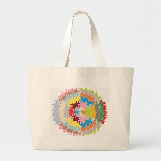 EBR Rainbow Colors:  Energy Balance Jumbo Tote Bag