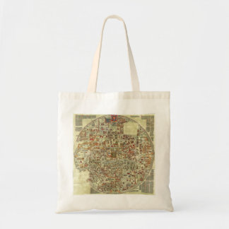 Ebstorf Map Canvas Bags