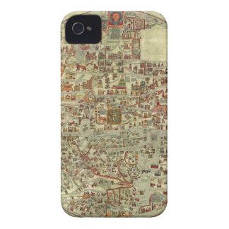 Ebstorfer Old World Map Case-Mate iPhone 4 Case
