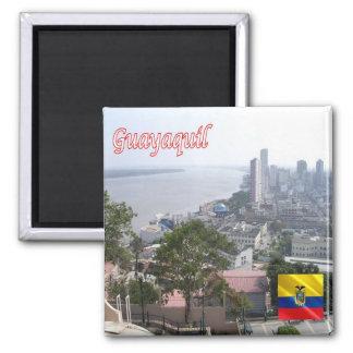 EC - Ecuador - Guayaquil Square Magnet