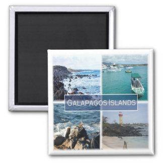 EC * Ecuador - The Galapagos Islands Square Magnet