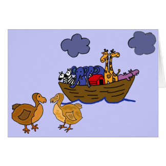 EC- Funny Dodo Greeting Card