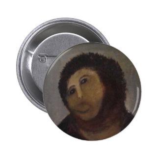 Ecce Homo 6 Cm Round Badge