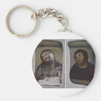Ecce Homo Collection Gifts Basic Round Button Key Ring