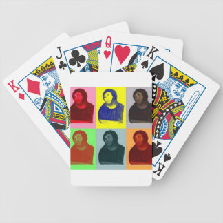 Ecce Homo - Pop Art Style Bicycle Playing Cards