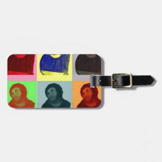 Ecce Homo - Pop Art Style Luggage Tag