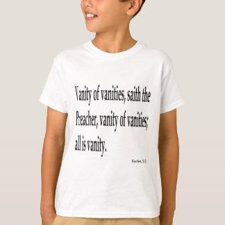 Eccles. 1:2, w T-Shirt