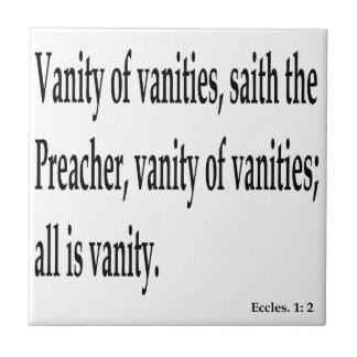 Eccles. 1:2, w tile