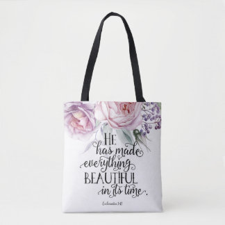 Ecclesiastes 3:11 All Over Print Tote Bag