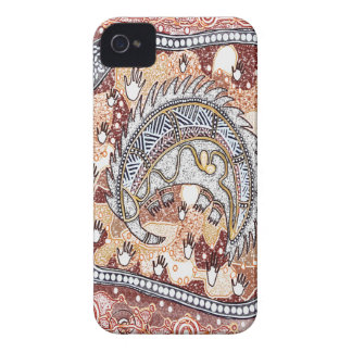 Echidna Dreaming iPhone 4 Case
