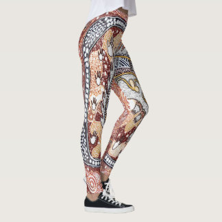 Echidna Dreaming Leggings