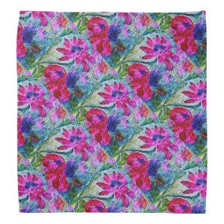 Echinacea Pattern Bandana