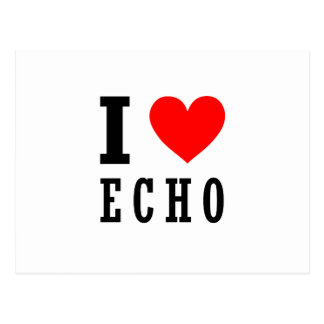 Echo, Alabama Postcard