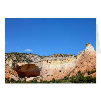 Echo Amphitheater, Abiquiu, New Mexico Card