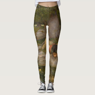 Echo and Narcissus by John William Waterhouse Leggings