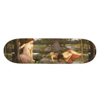 Echo and Narcissus by John William Waterhouse Skate Decks