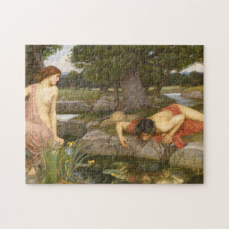 Echo and Narcissus by Waterhouse Puzzles