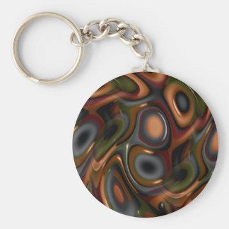 Echo Basic Round Button Key Ring