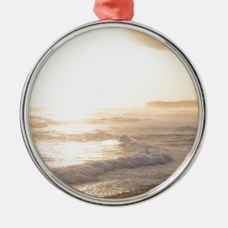 Echo Beach Bali Silver-Colored Round Decoration