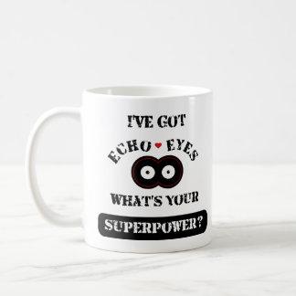 Echo Eyes Superpower2 Coffee Mug
