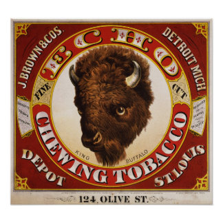Echo fine cut chewing tobacco print
