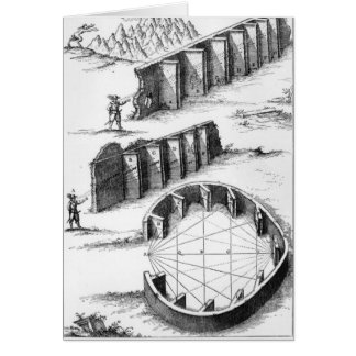 Echo Formation, book by Athanasius Kircher Card