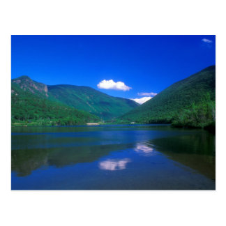 Echo Lake Franconia Notch Postcard