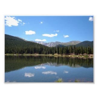 Echo Lake Mt Evans Colorado Art Photo