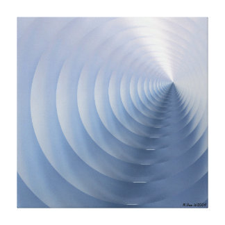 Echo Motion Canvas Print