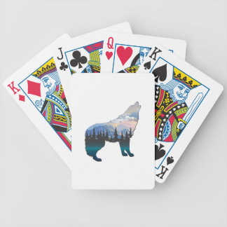 Echo of Yellowstone Bicycle Playing Cards