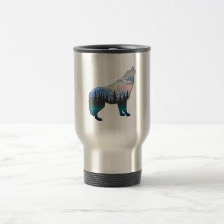 Echo of Yellowstone Travel Mug