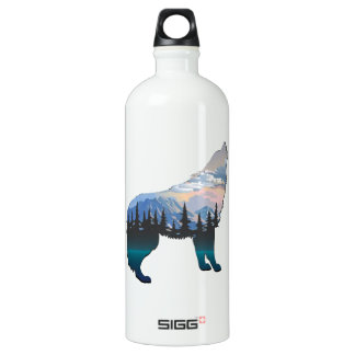 Echo of Yellowstone Water Bottle
