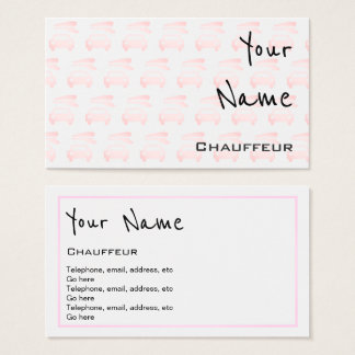 """Echoes"" Chauffeur Business Cards"